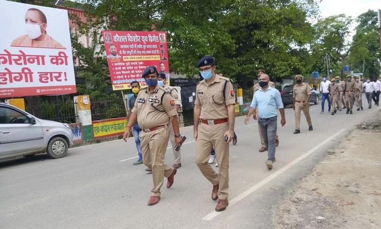 गांव में तनाव के बाद भारी पुलिस फोर्स तैनात (फाइल फोटो)