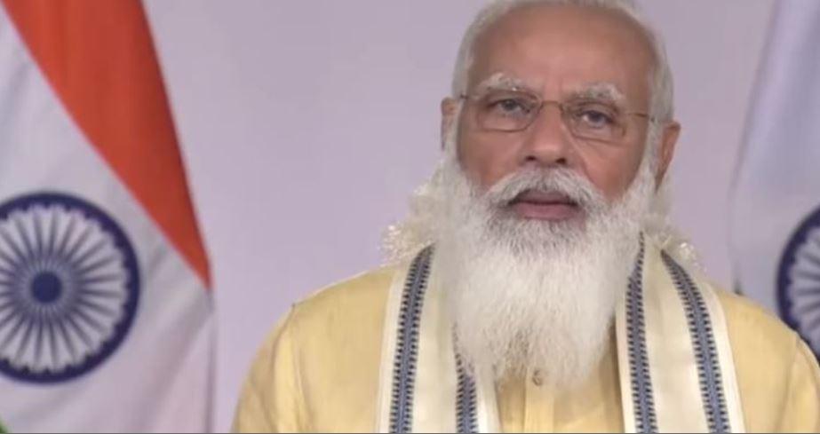 पीएम मोदी ने संबोधन में की बड़ी घोषणाएं