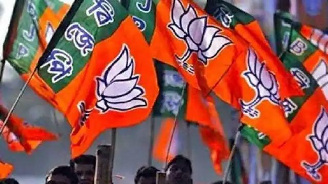 भाजपा मुख्यालय में नये नेता के स्वागत की तैयारियां जोरों पर (फाइल फोटो)