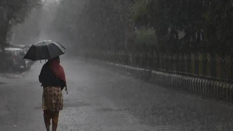 कुछ क्षेत्रों में बारिश की संभावना