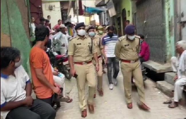 घटना की जांच में जुटी पुलिस