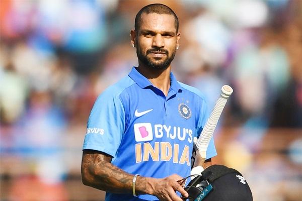 भारतीय खिलाड़ी शिखर धवन  (फाइल फोटो)