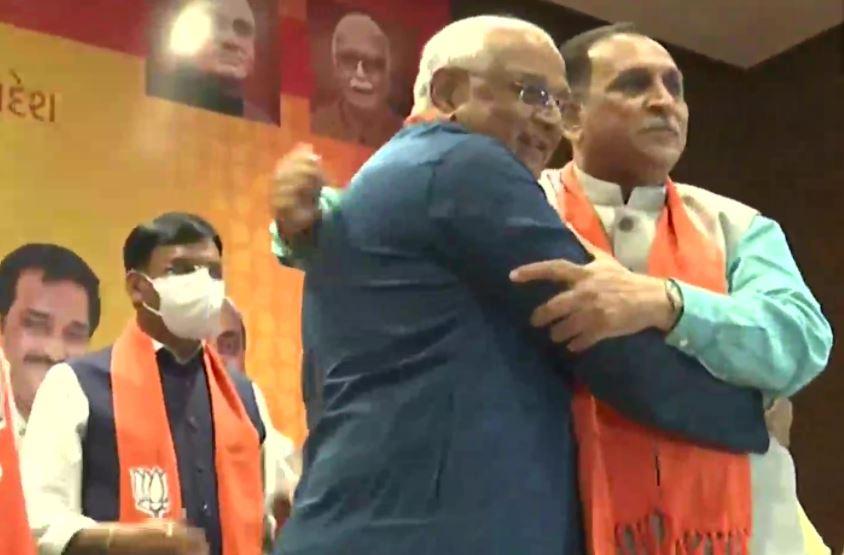 भाजपा विधायक दल के नेता चुने गये भूपेंद्र पटेल