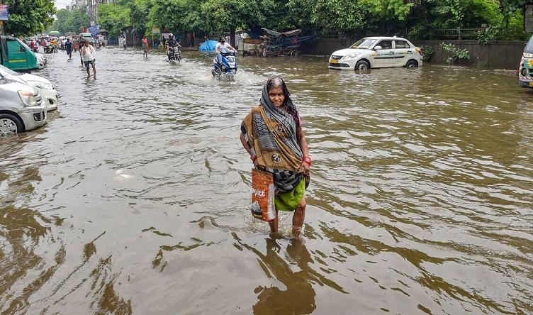 सोमवार को तेज बारिश से पानी-पानी हुई थी दिल्ली (फाइल फोटो)