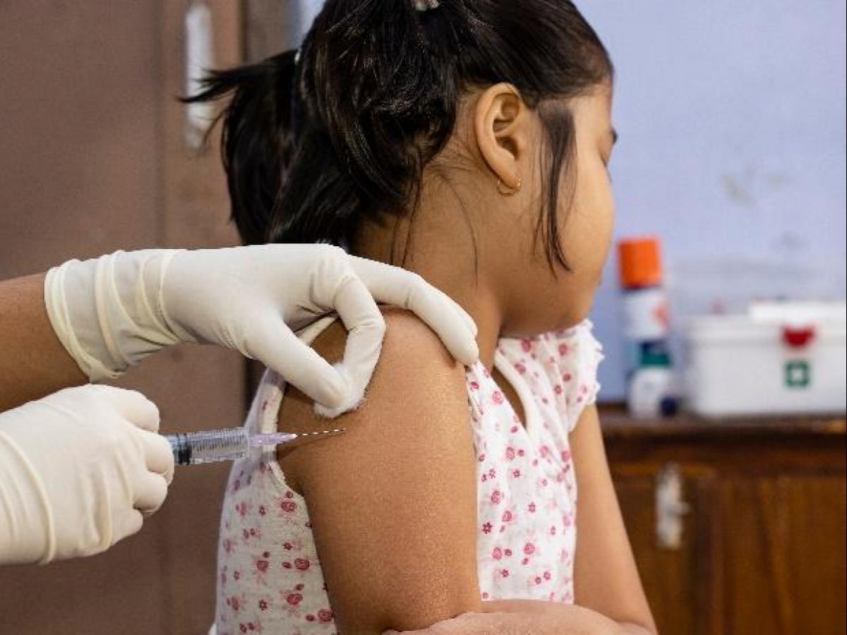 बच्चों के लिये कोरोना वैक्सीन का रास्ता साफ (फाइल फोटो)